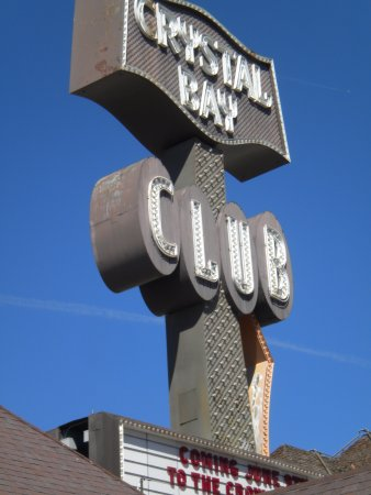 Crystal Bay, NV : Casino Sign