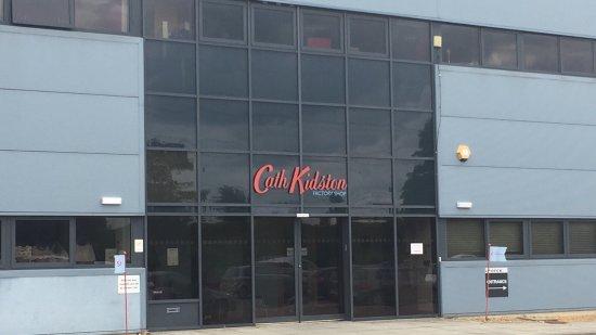 Eaton Socon, UK: The factory shop entrance