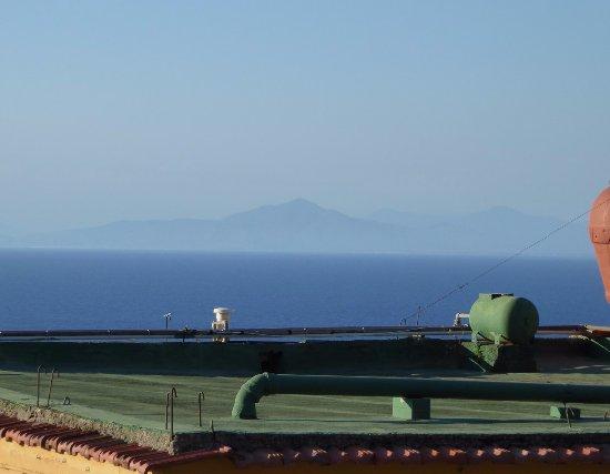 Hotel Villa Sirena: Vue de la terrasse