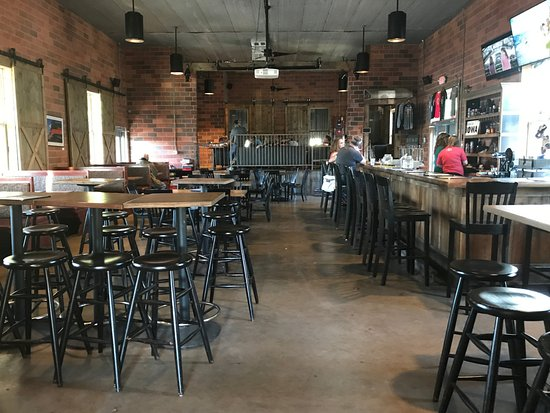 Tap room layout - Picture of Reclaimed Rails Brewing Company