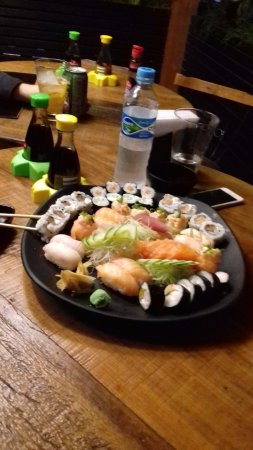 Combination Sushi Platter for 2 or 3