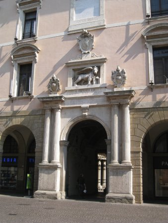 Université de Padoue : Entrance