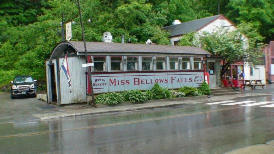 Bellows Falls, VT: Taken from across the street. This really is the size