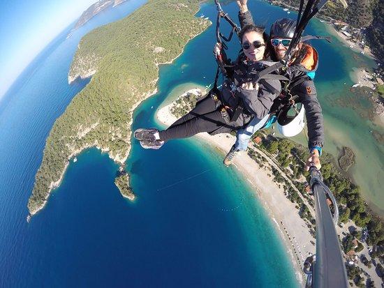 Fethiye, Ölüdeniz Paragliding - Picture of Hanuman Paragliding, Oludeniz - Tr...