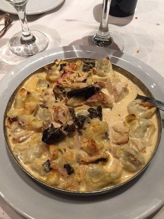 Montecatini Ristorante: Cappellettis alla Caruso
