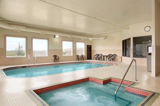 Innisfail, Canada: Indoor Hot Tub