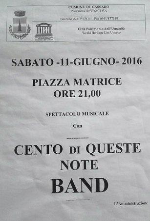Cassaro, Italië: cartel