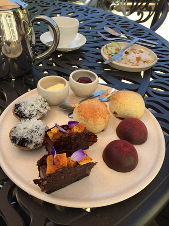 Hipping Hall: Afternoon tea in the sunshine