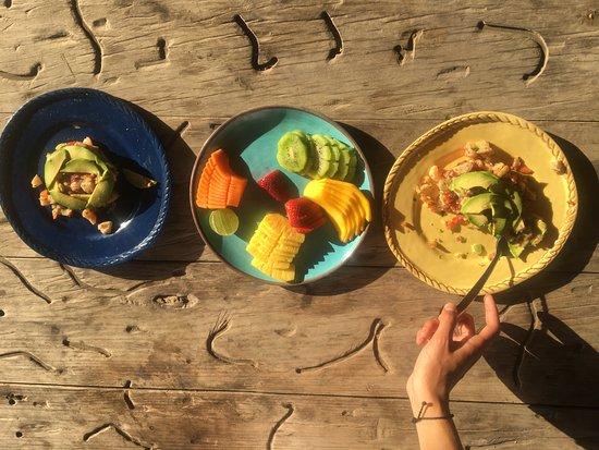 Las Alamandas: picnic