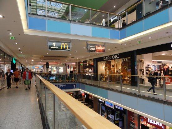Galeria Krakowska Very Modern 4 Story Shopping Mall