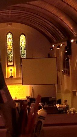 Romford, UK: View inside the church