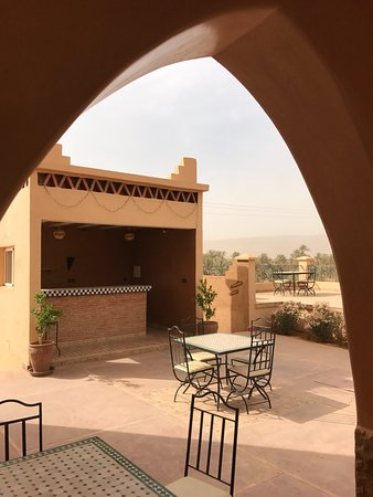 Tafraoute Sidi Ali, Morocco: Terrasse