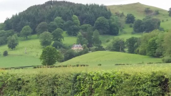 Plas Uchaf: From the road