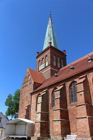 Bergen auf Ruegen, Allemagne: Kirche