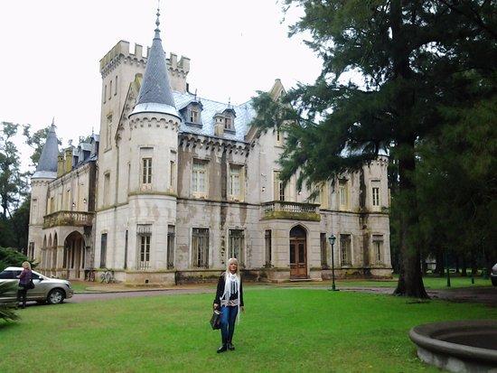 Estancia La Candelaria: Vista del castillo