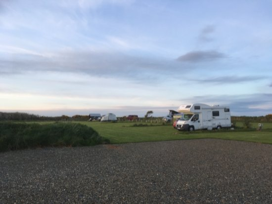 Croesgoch, UK: Spacious pitches