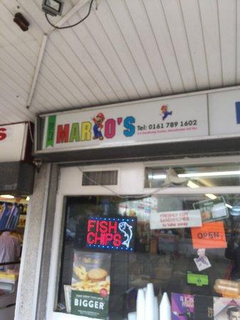 Eccles, UK: Mario's
