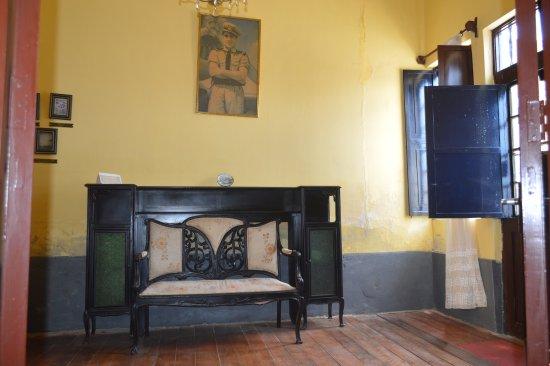 Pimentel, Pérou : mobília da casa -