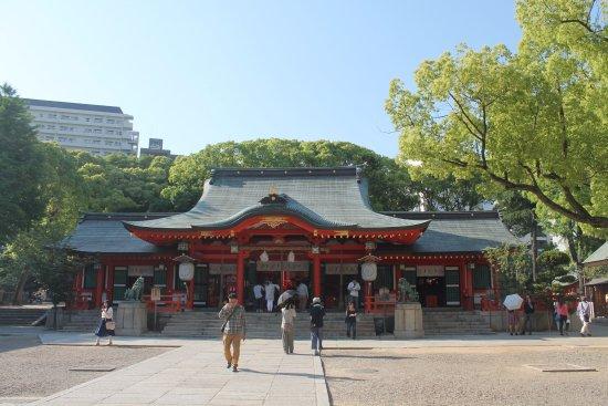Kobe, Japonia: Ikuta Shrine.