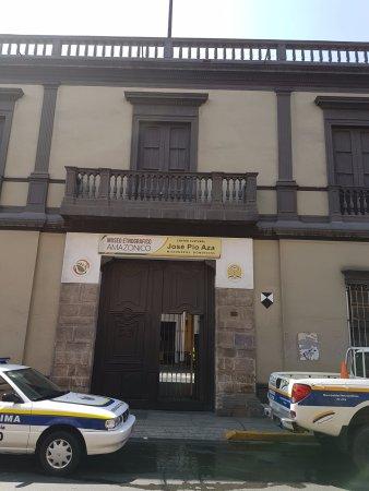 Museu etnográfico amazônico