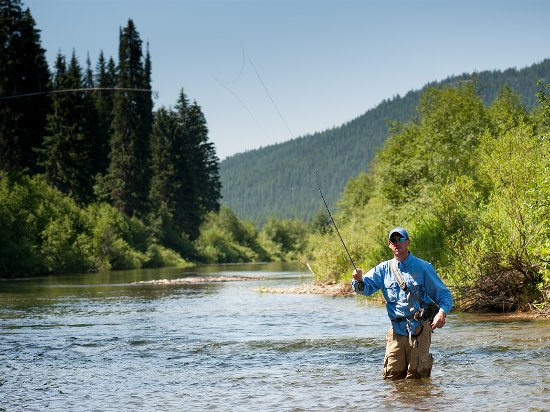 Montana: Discover what fly fishing is all about.