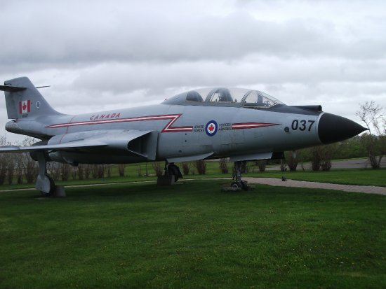 Summerside, Canada : The jet that replaced the cancelled Avro, I think