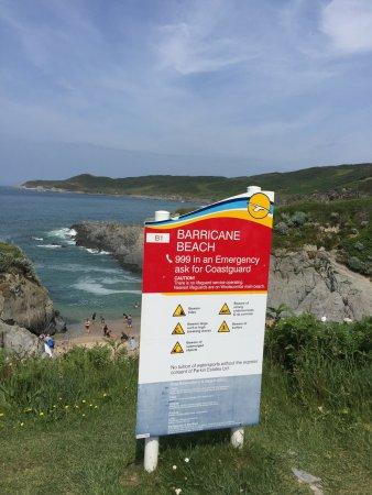 Mortehoe, UK: Barricane Beach - 1st June 2017