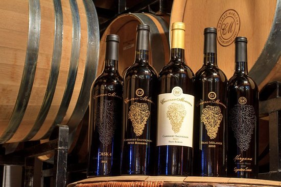 Creston, Kalifornien: Chateau Margene produces Bordeaux-style wines