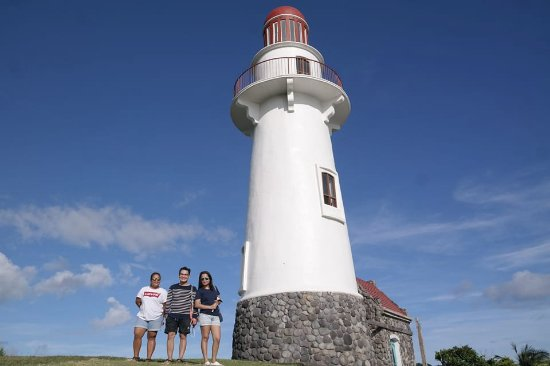 Basco Lighthouse: Standing beautifully beside us.