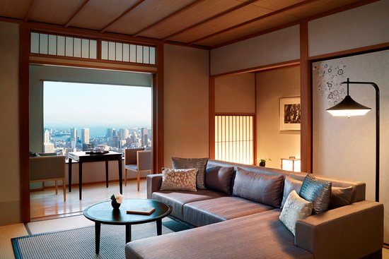 Modern Japanese Suite Living room - Picture of The Ritz-Carlton ...