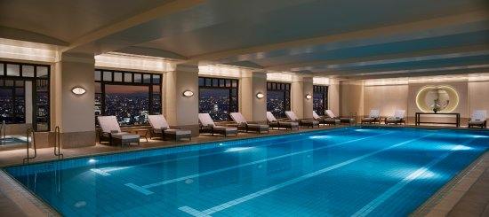 Indoor swimming pool picture of the ritz carlton tokyo - Swimming pool luxembourg kirchberg ...