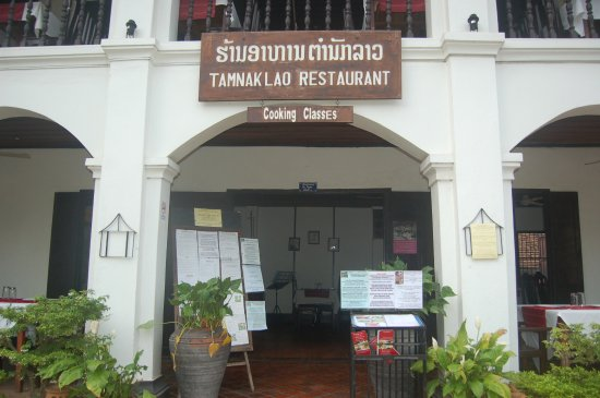 Tamnak Lao Restaurant : entrance