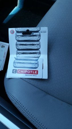 Chipotle mexican grill gifts