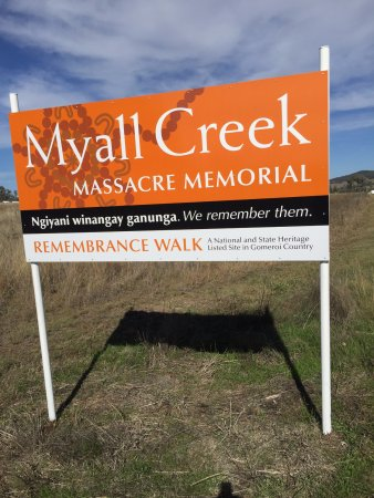 Myall Creek Massacre Memorial Walk