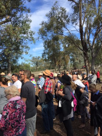 Bingara, Australien: The annual memorial event in June long weekend (June 2016)