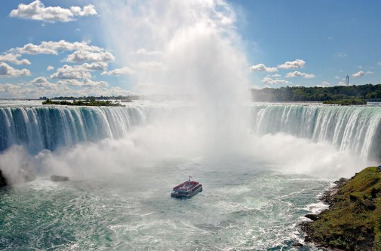 Niagara Falls Boat Tour with American...