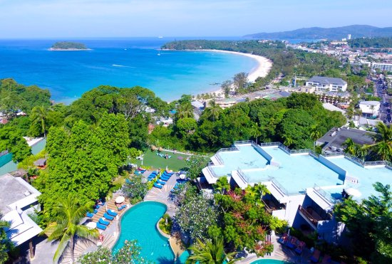 Andaman Cannacia Resort: Over Looking Kata Beach , Sunset point