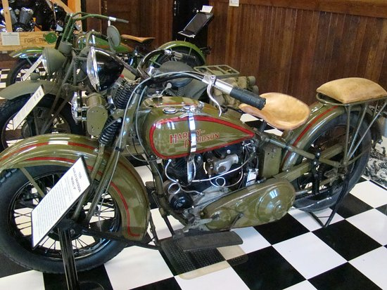Sturgis Motorcycle Museum & Hall of Fame: bikes