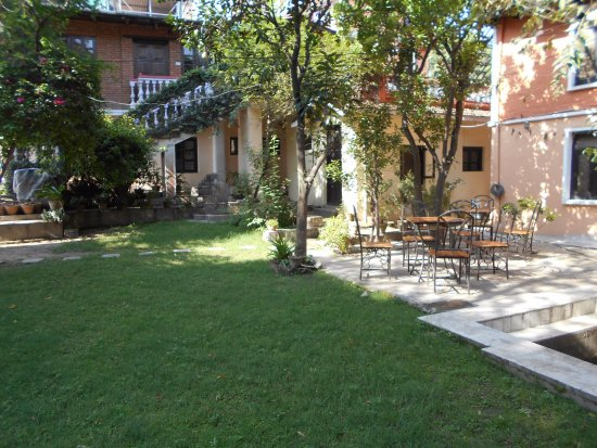 Krishna's House: Garden
