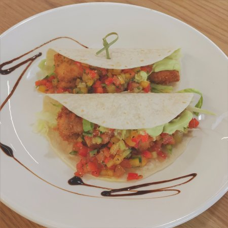 Palmerston North, New Zealand: Special: Crispy Fish or Chicken Tacos
