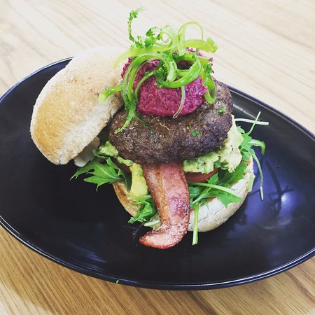 Palmerston North, New Zealand: Special: Lamb Burger