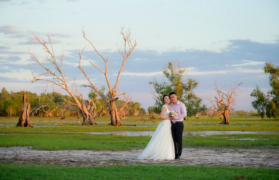 Mary River National Park, Australia: The surrounding areas make for spectacular wedding photography.