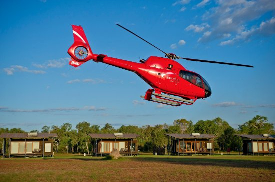 Take off for a scenic flight around the surrounding Mary River National Park & Kakadu National P