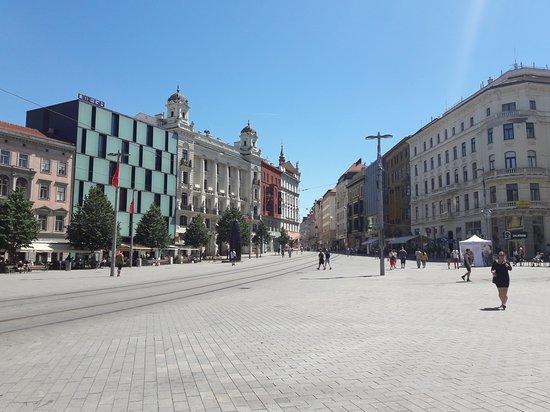Brno, Tjeckien: Namesti Svobody