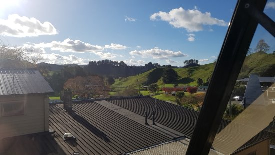 Waitomo Caves Guest Lodge: View from the room