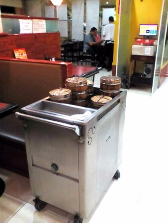 Cainta, Filippinene: Dimsum Cart