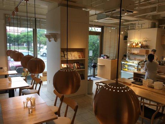 Sakura Cafe: view of decor facing the entrance