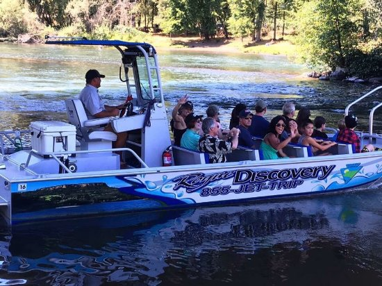Central Point, OR: Rogue Jet Boat Adventures