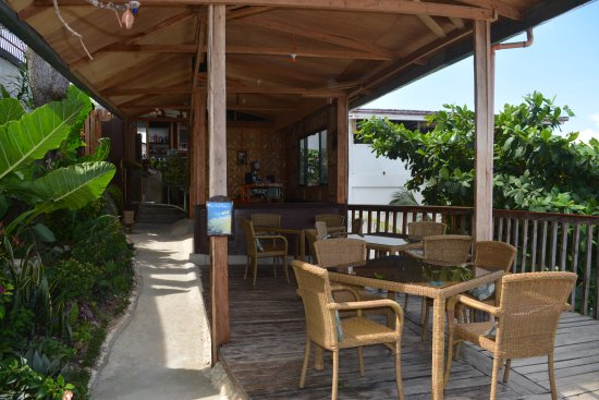 Noordzee Hostel: Restaurant/Chill-out balcony