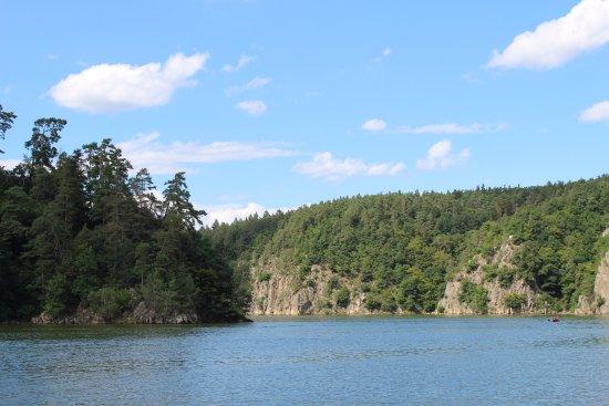 Zvikovske Podhradi, Czech Republic: Orlická přehrada